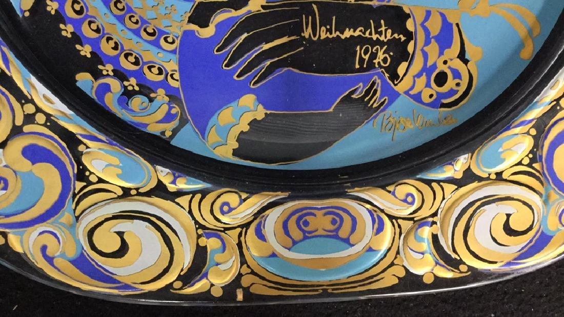 Bjorn Wiinblad Rosenthal Christmas Plate - 6