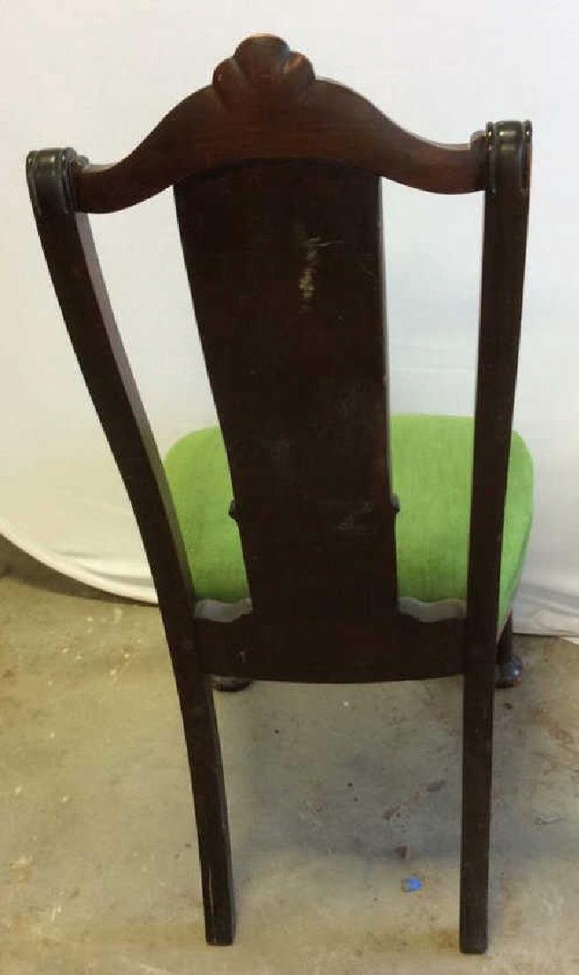 Set 8 Queen Anne Style Dining Chairs - 4