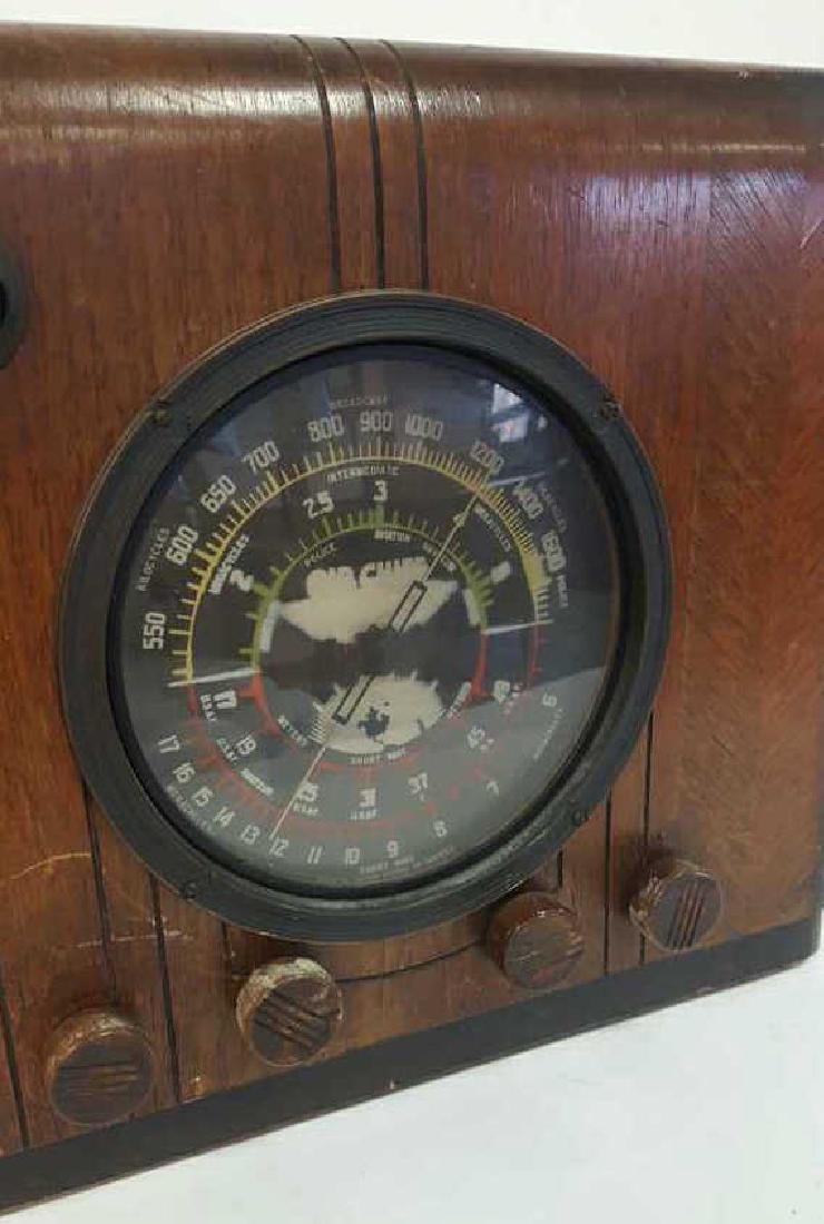 Antique Circa 1930s Radio - 4