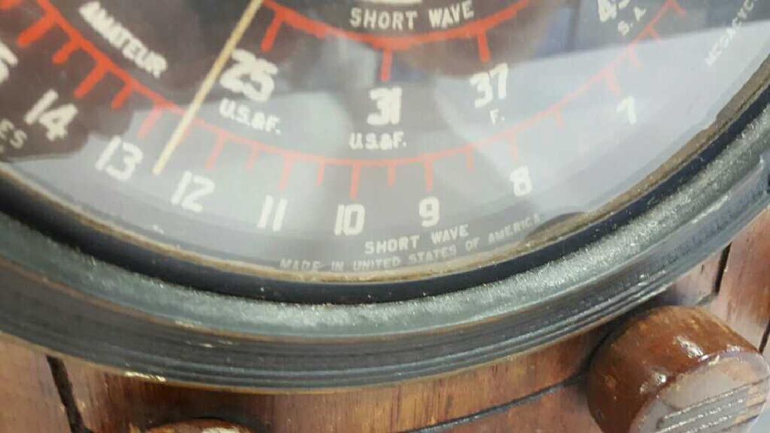 Antique Circa 1930s Radio - 5