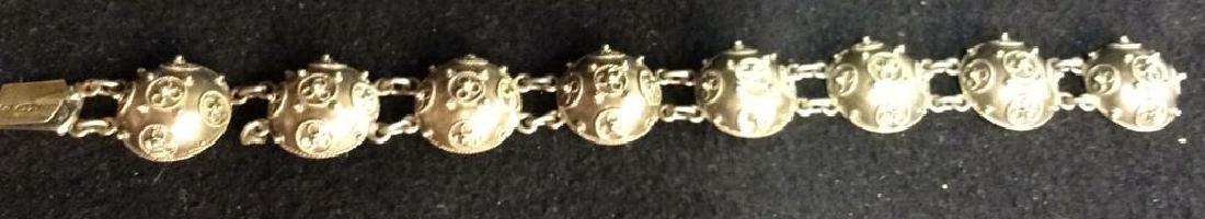 Period Victorian Silver Wash Bracelet