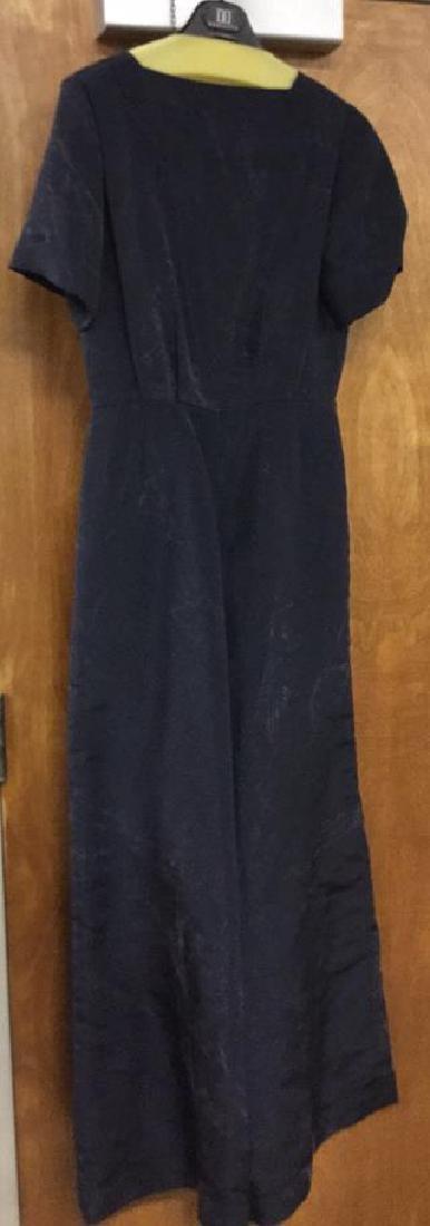 Woman's Designer Oscar de la Renta Silk Pantsuit - 5