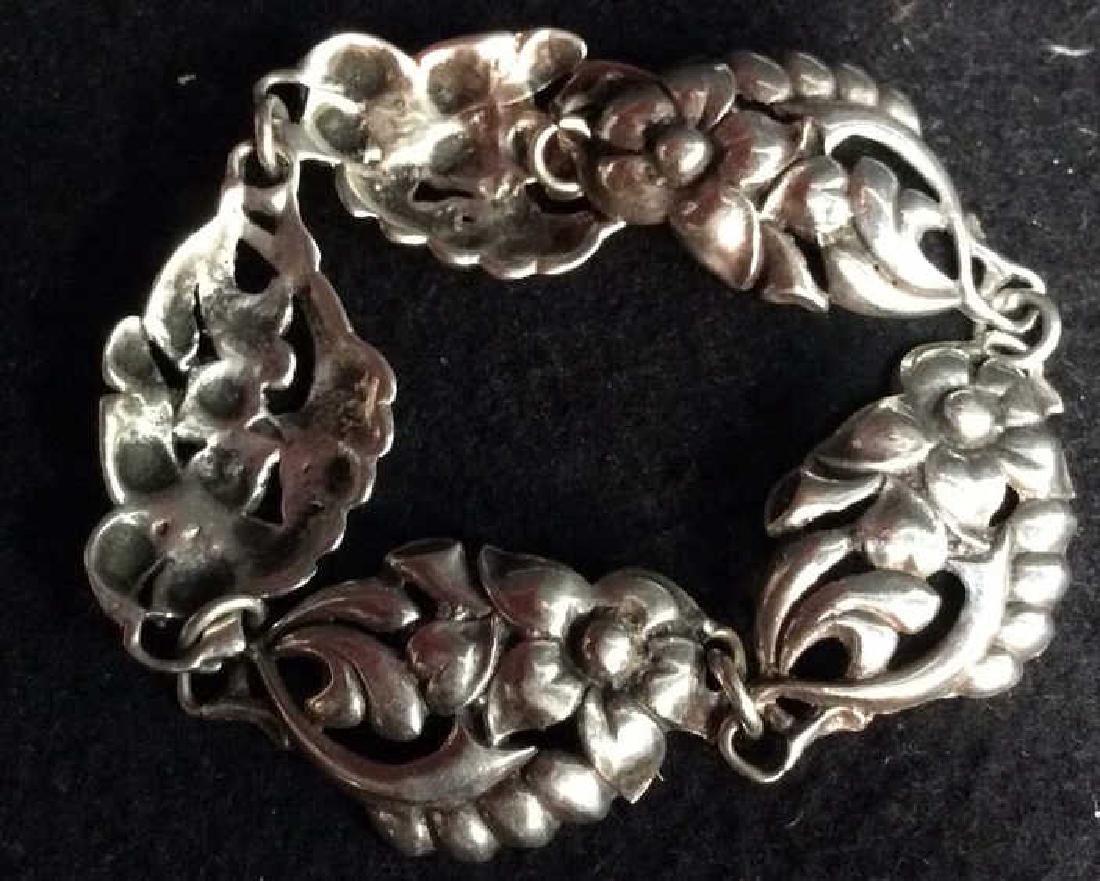 Georg Jensen Vintage Sterling Bracelet - 7