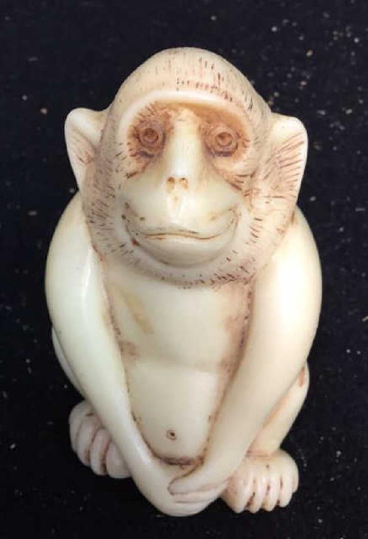 4 Wise Monkey Figurines - 8