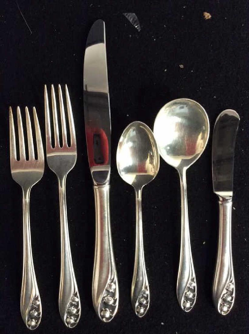 Sterling Silver Gorham Service for 8 - 7