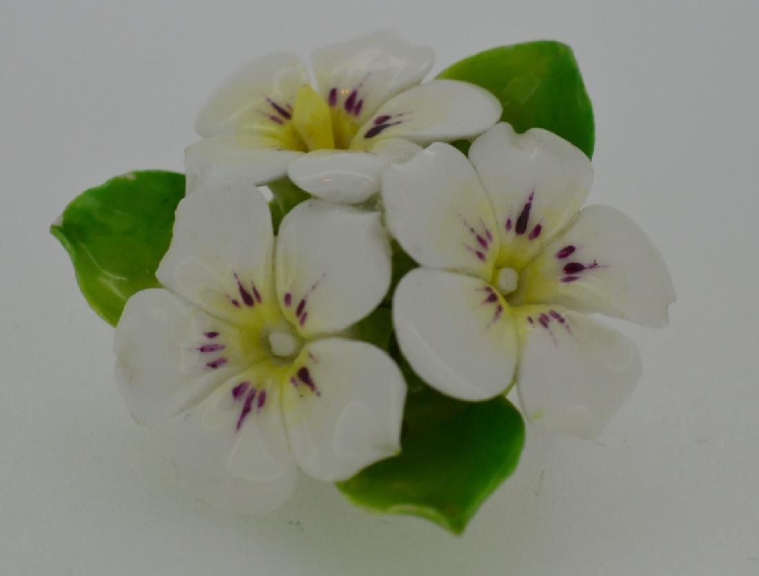 Porcelain Flower Pin