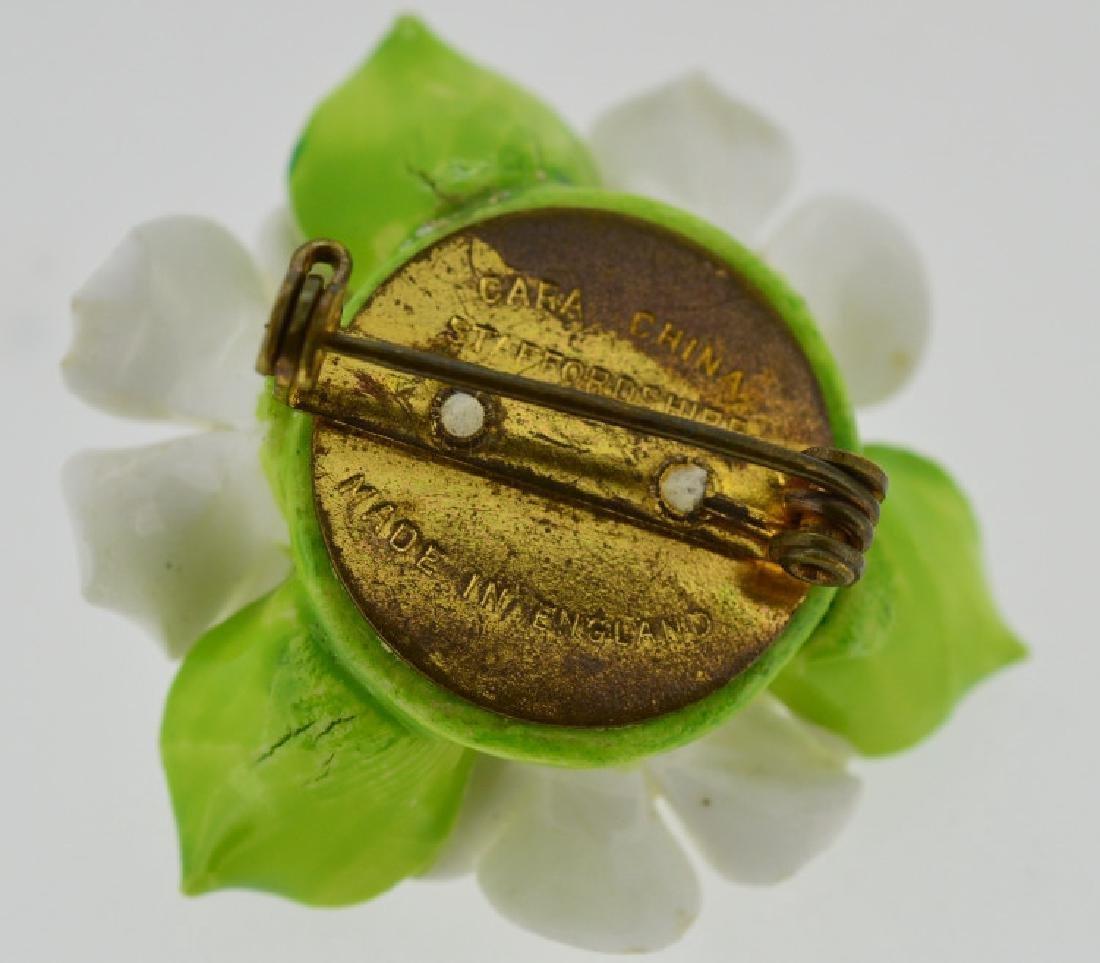 Porcelain Flower Pin - 3