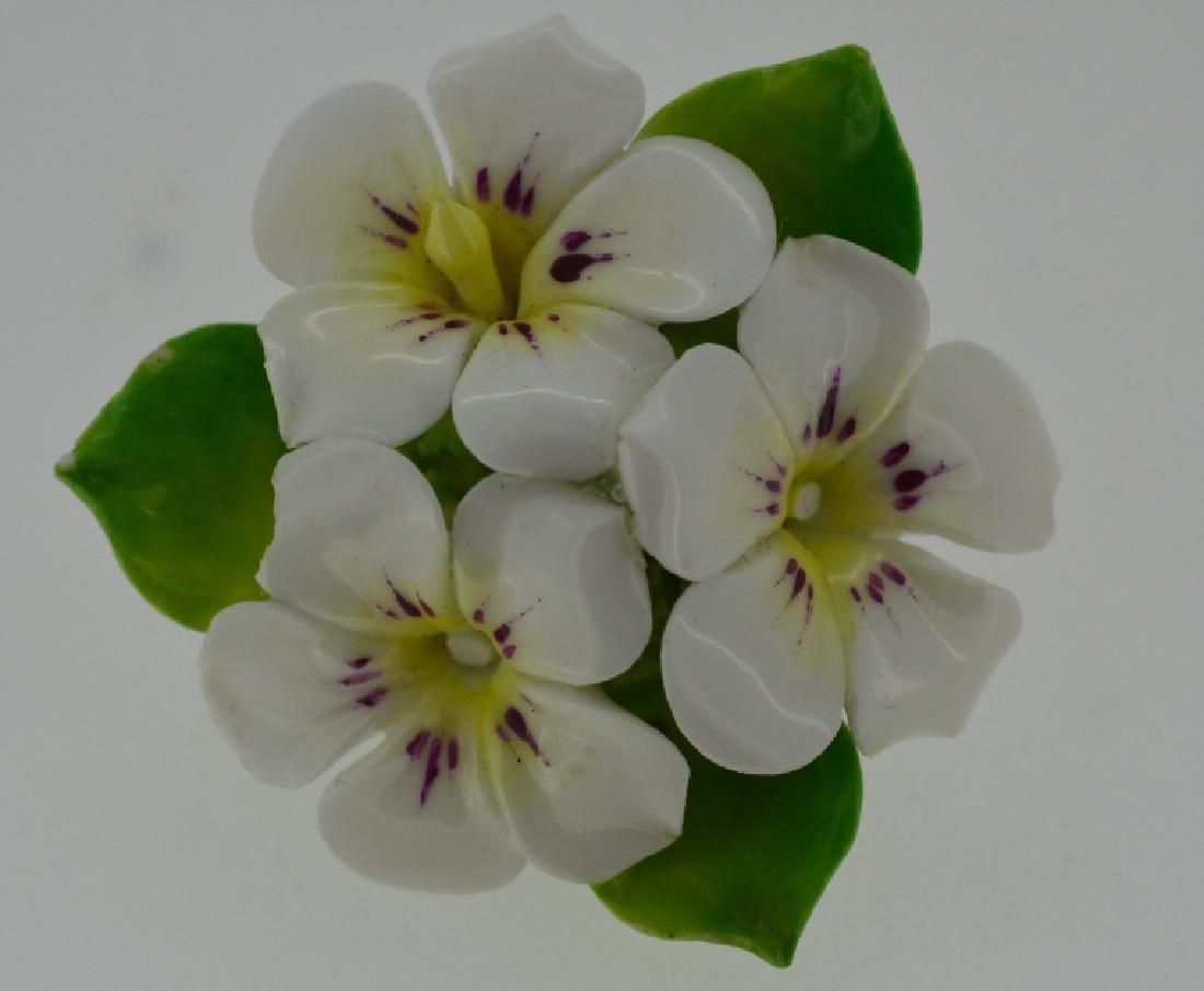 Porcelain Flower Pin - 4