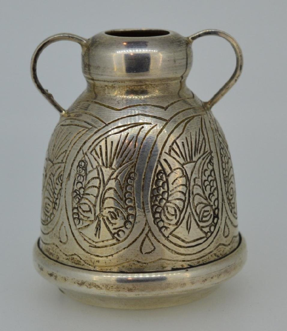 Sterling Silver Arabic Designed Cup