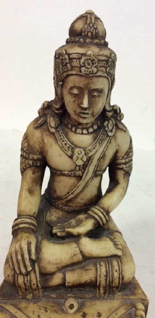 Carved Buddha, Iron Door Knocker more