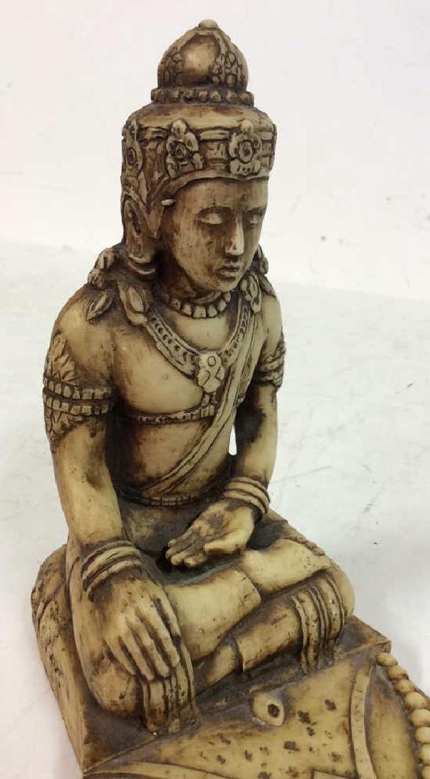 Carved Buddha, Iron Door Knocker more - 5