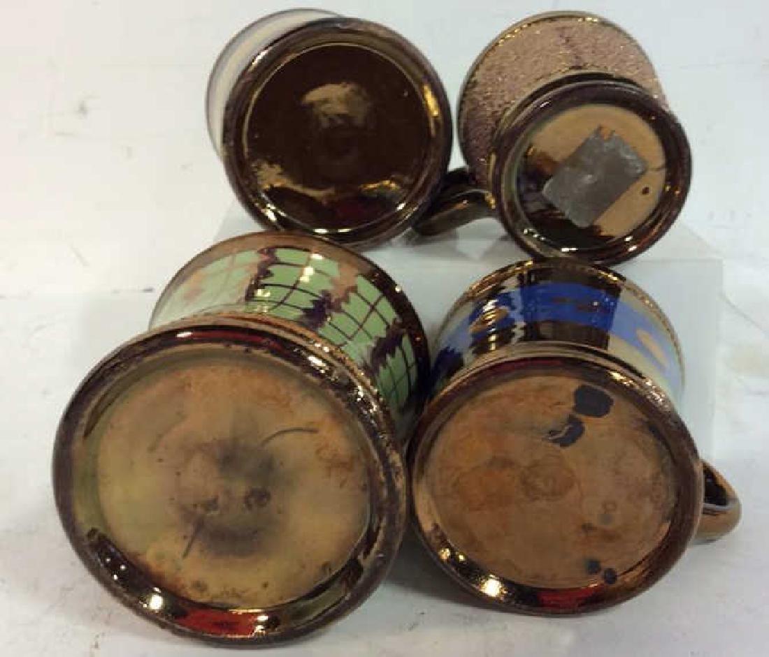 English Antique Copper Lusterware - 10