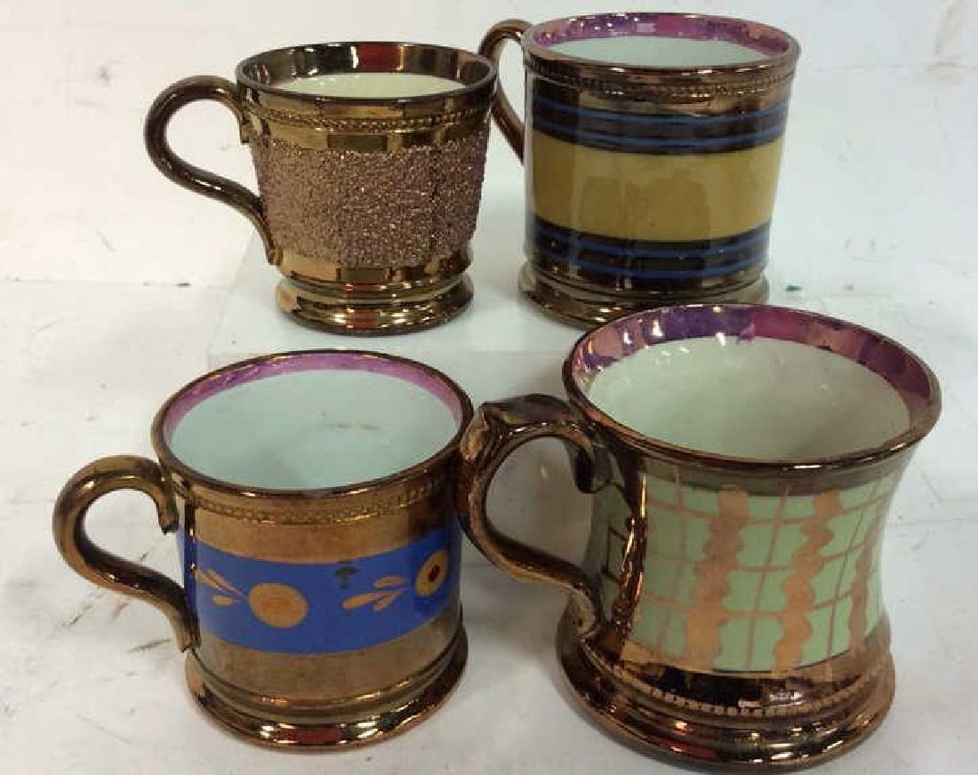English Antique Copper Lusterware - 2
