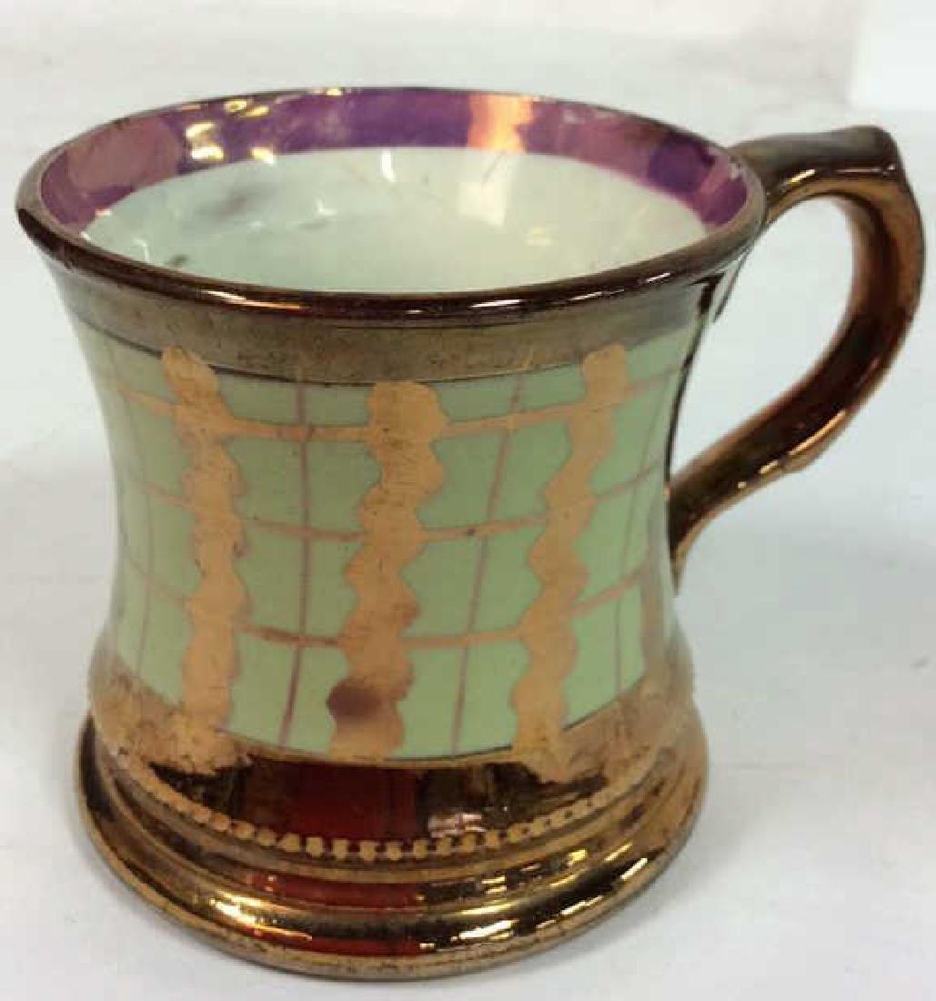 English Antique Copper Lusterware - 4