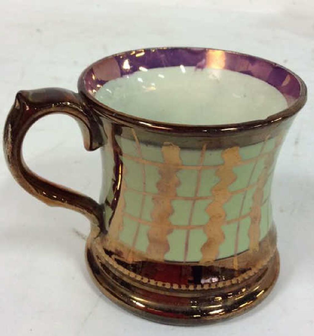 English Antique Copper Lusterware - 5