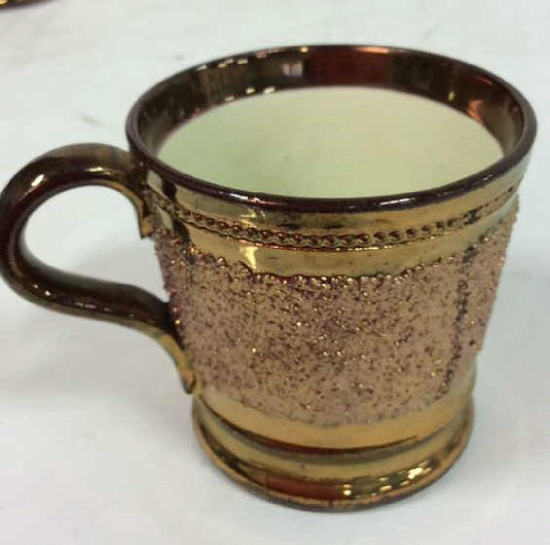 English Antique Copper Lusterware - 6