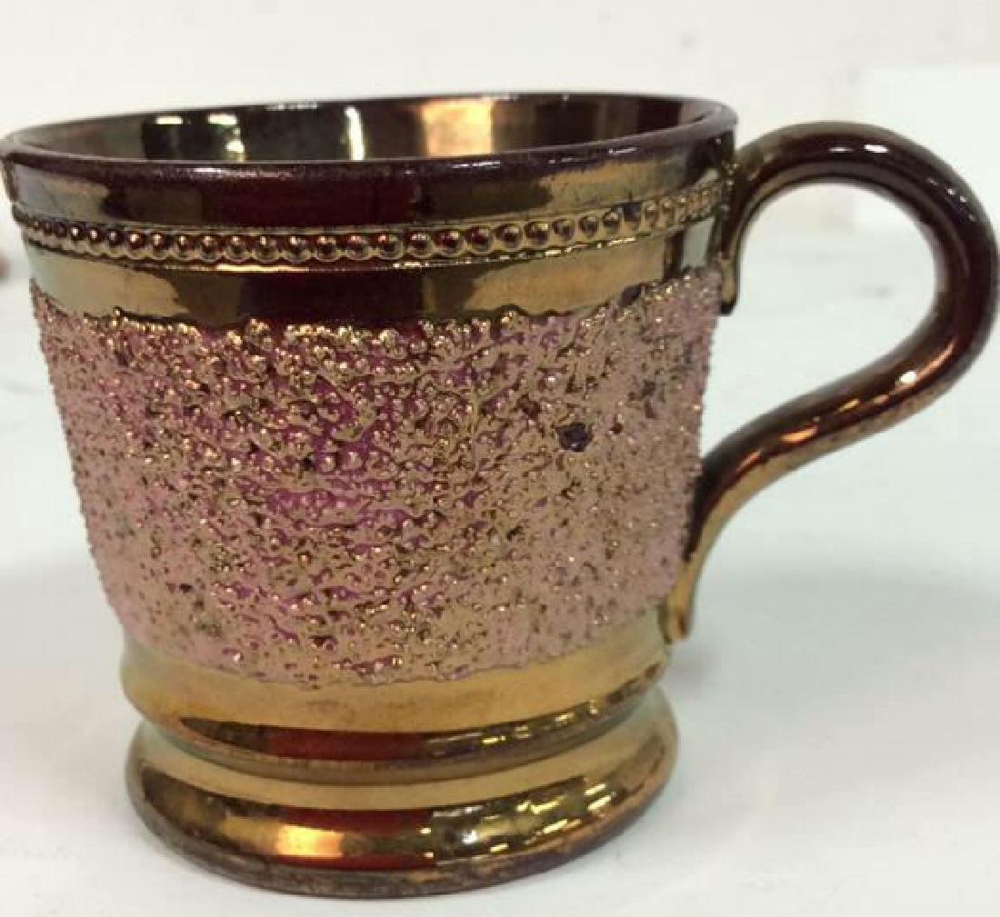 English Antique Copper Lusterware - 7