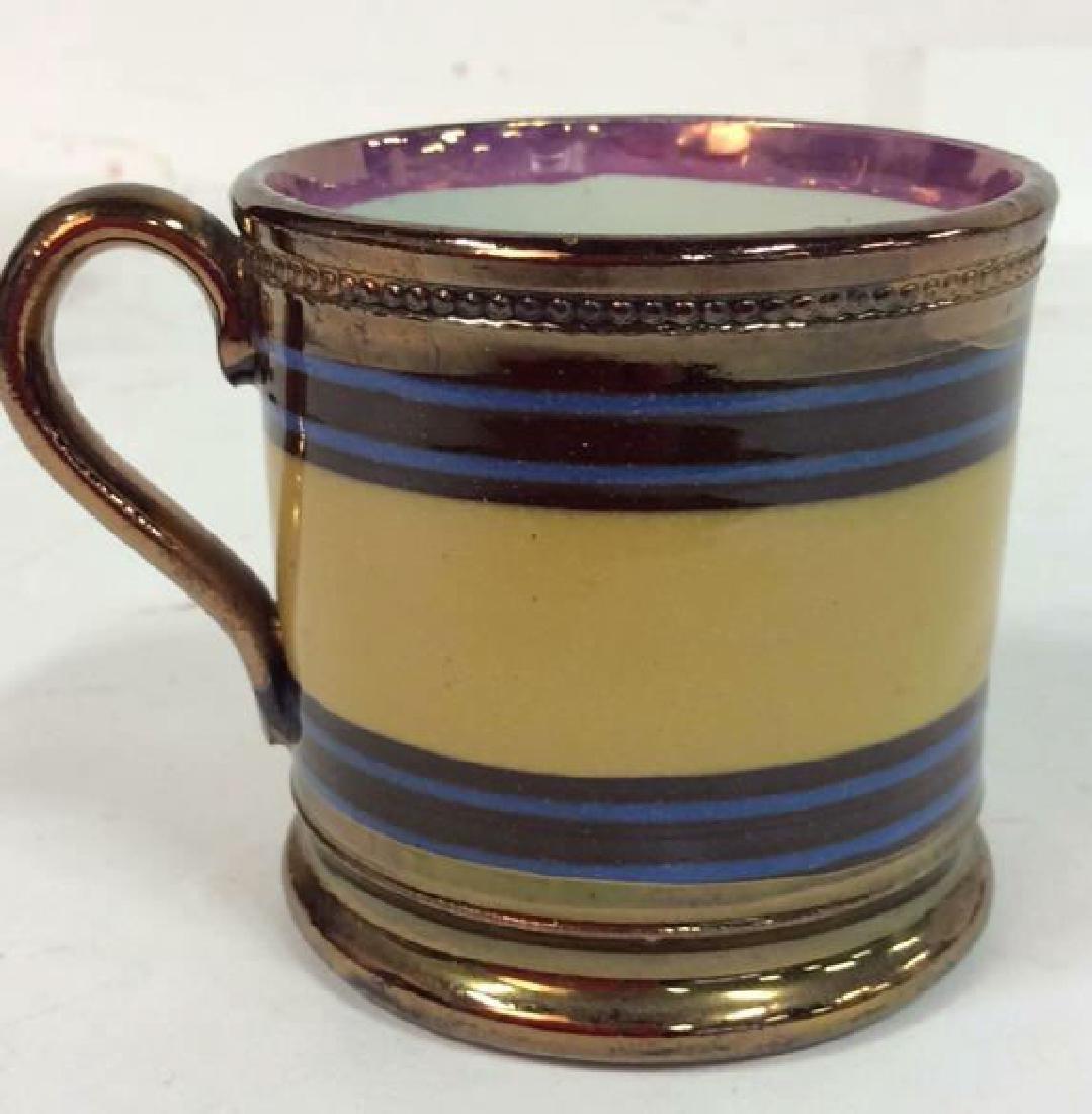 English Antique Copper Lusterware - 8