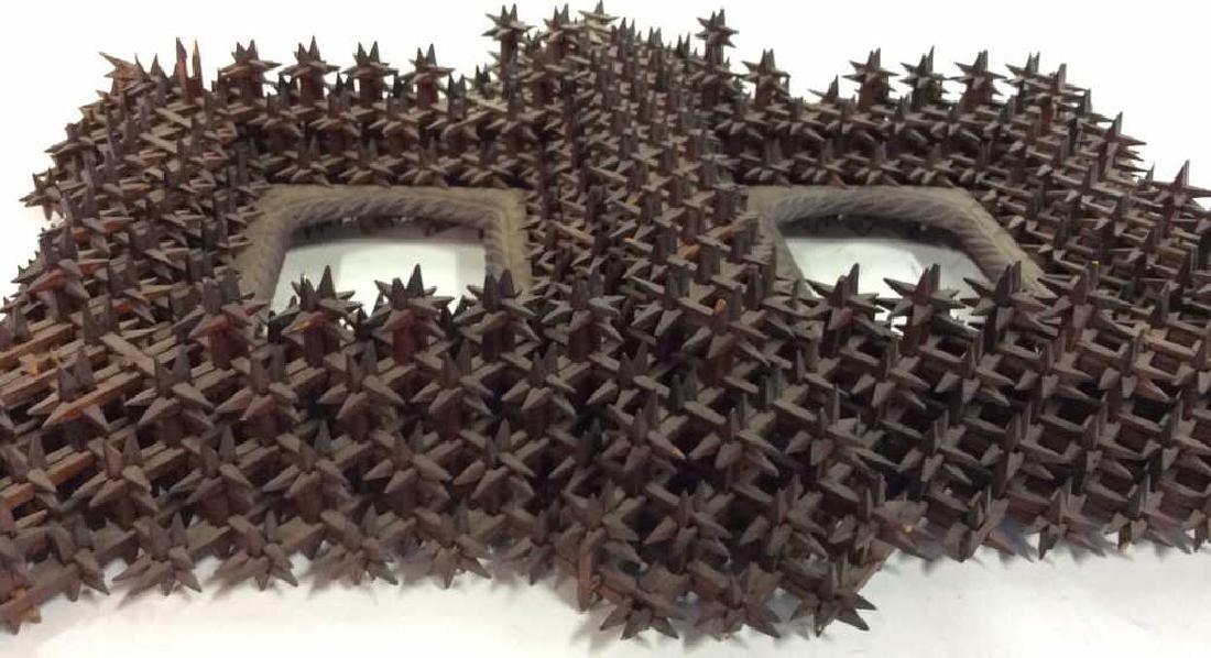 Tramp Art Crown of Thorns Frame - 3