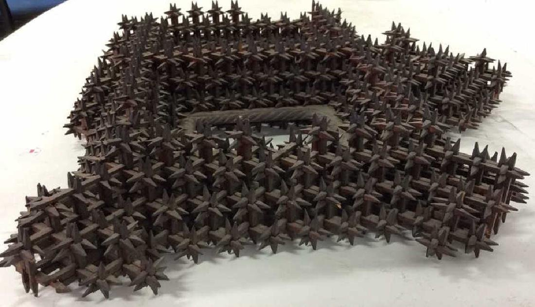 Tramp Art Crown of Thorns Frame - 5