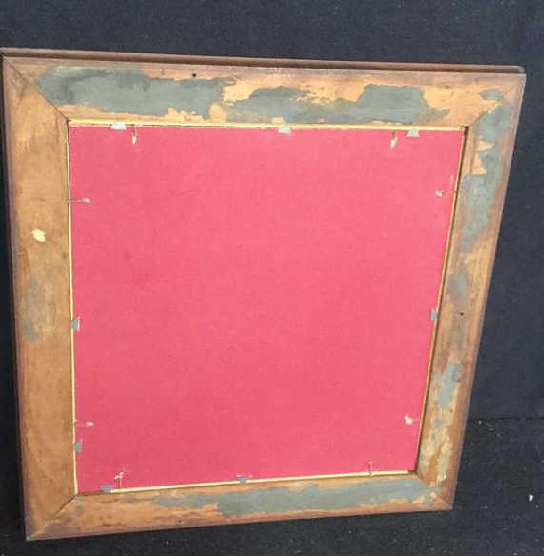 Two Vintage Wood Wall Mirrors - 10
