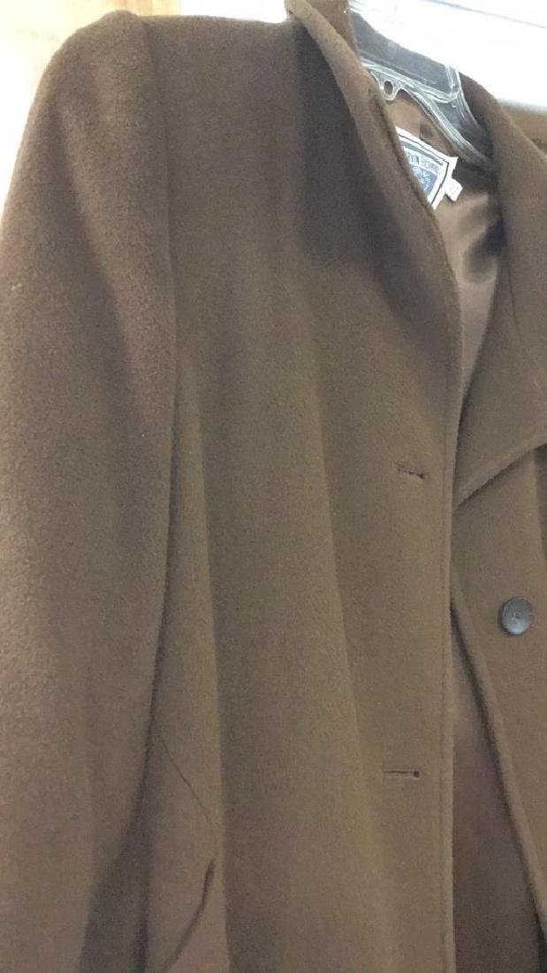 Women's Long Camelhair Coat - 2