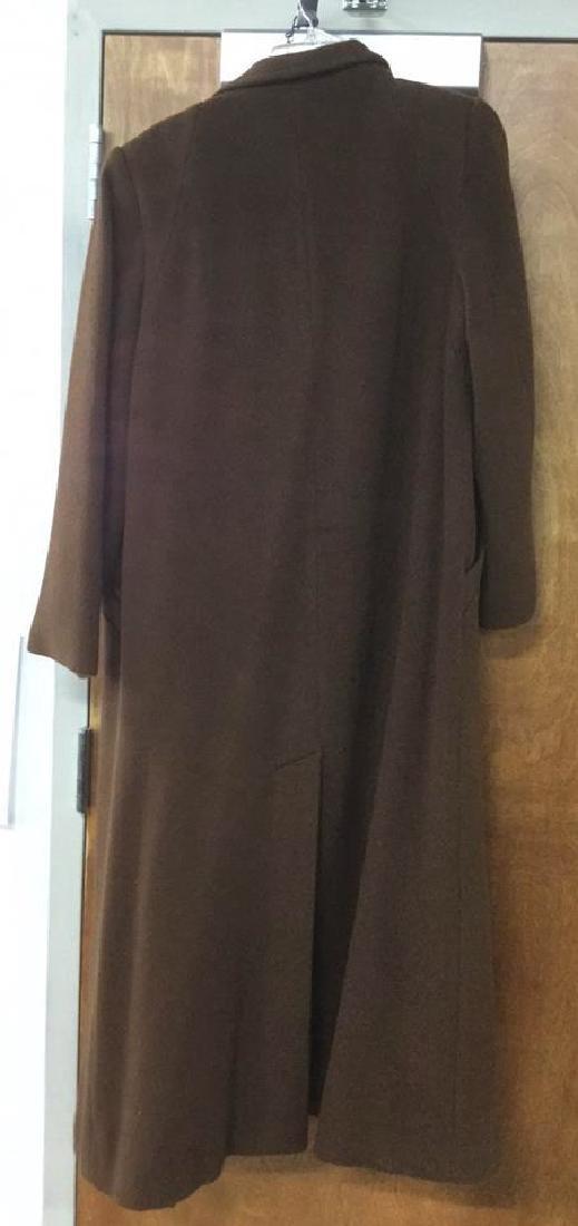 Women's Long Camelhair Coat - 6