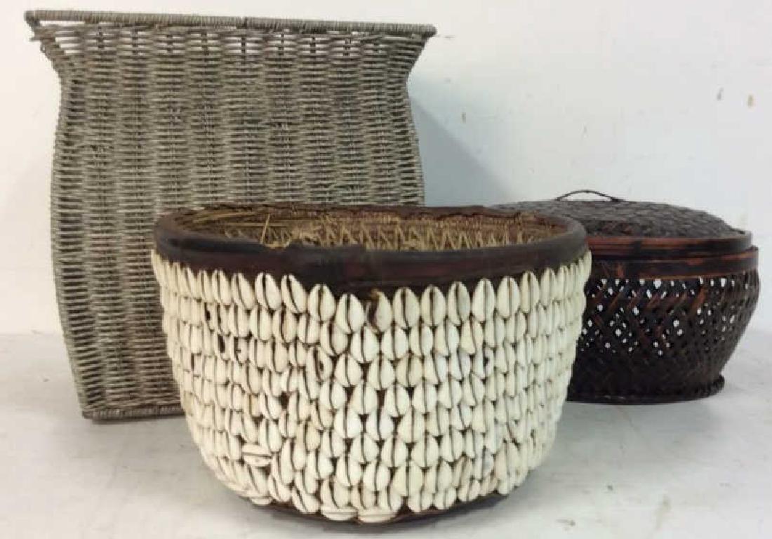 Yoruba Money Baskets Collectible