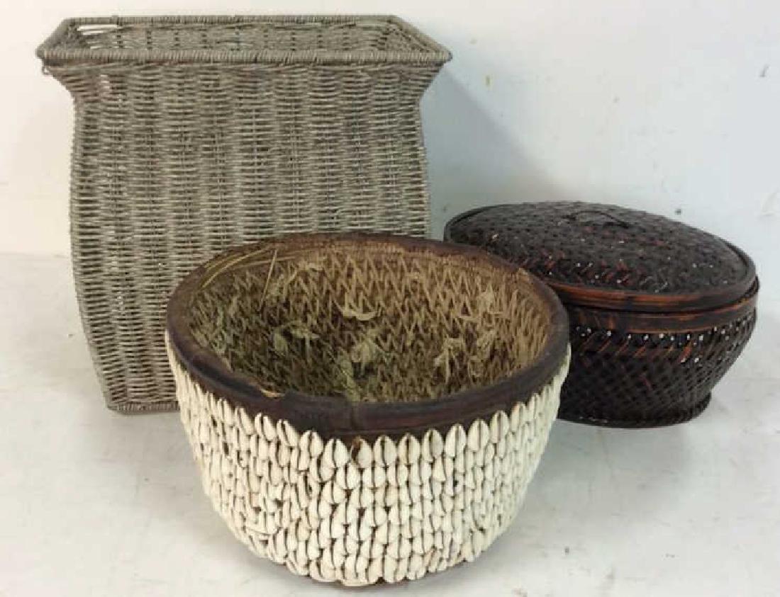 Yoruba Money Baskets Collectible - 2