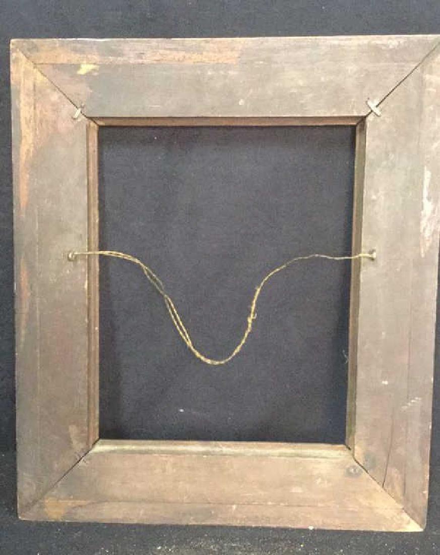 Antique Wood Frame - 6