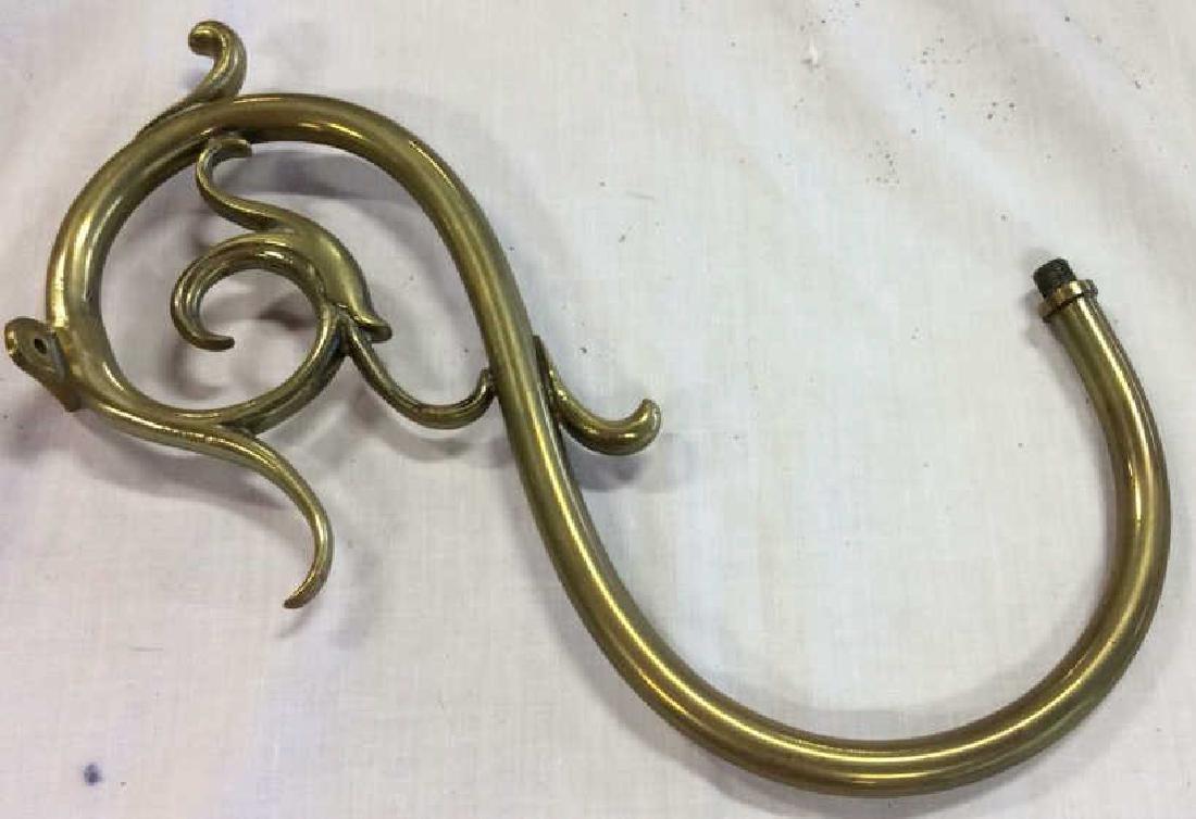 Antique 18th C Period Brass Chandelier 8 Arms - 8