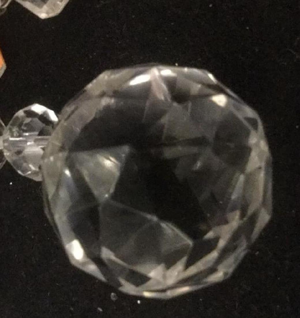 Vintage Crystal Candelabra Wall Sconce - 10