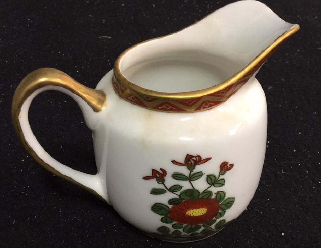 Japanese Kutani China Tea Set - 6