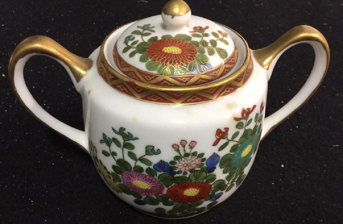 Japanese Kutani China Tea Set - 7