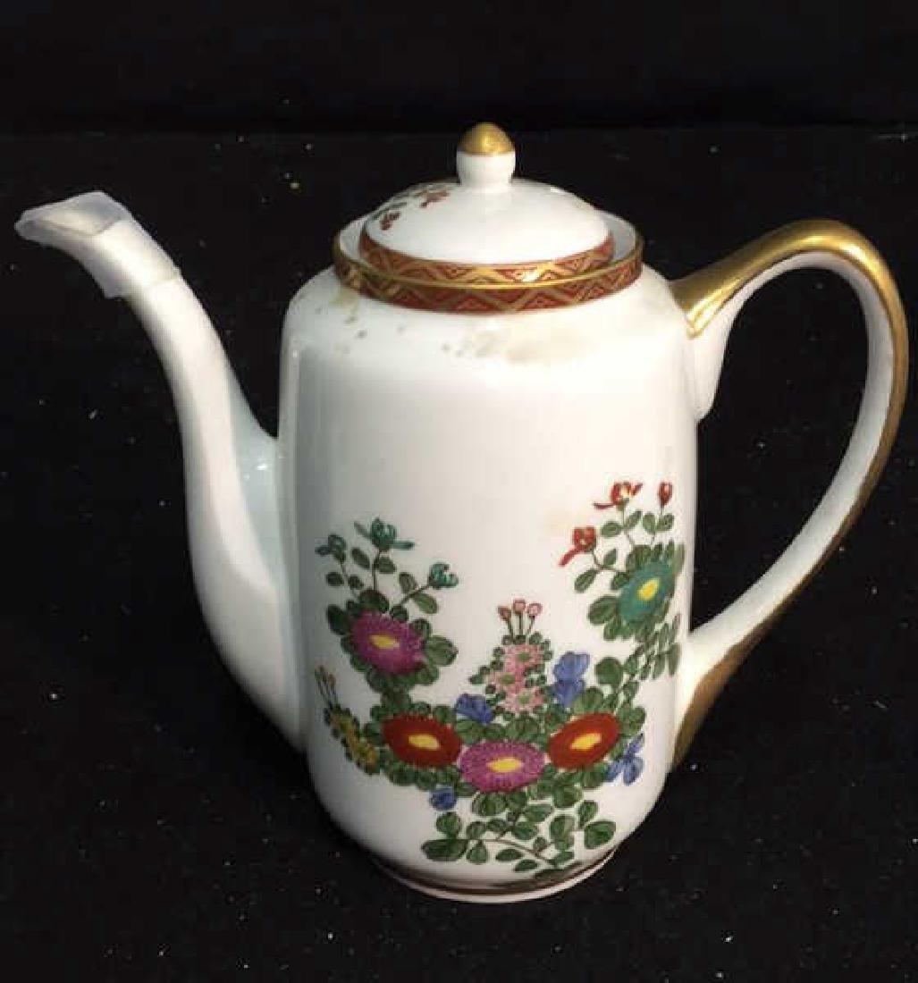 Japanese Kutani China Tea Set - 8
