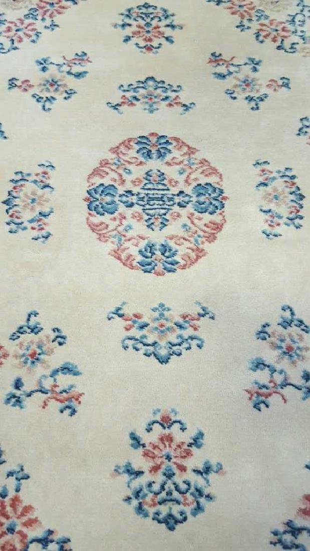 Wool Chinese Area Carpet - 2