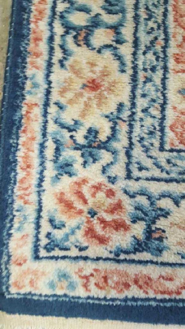 Wool Chinese Area Carpet - 4