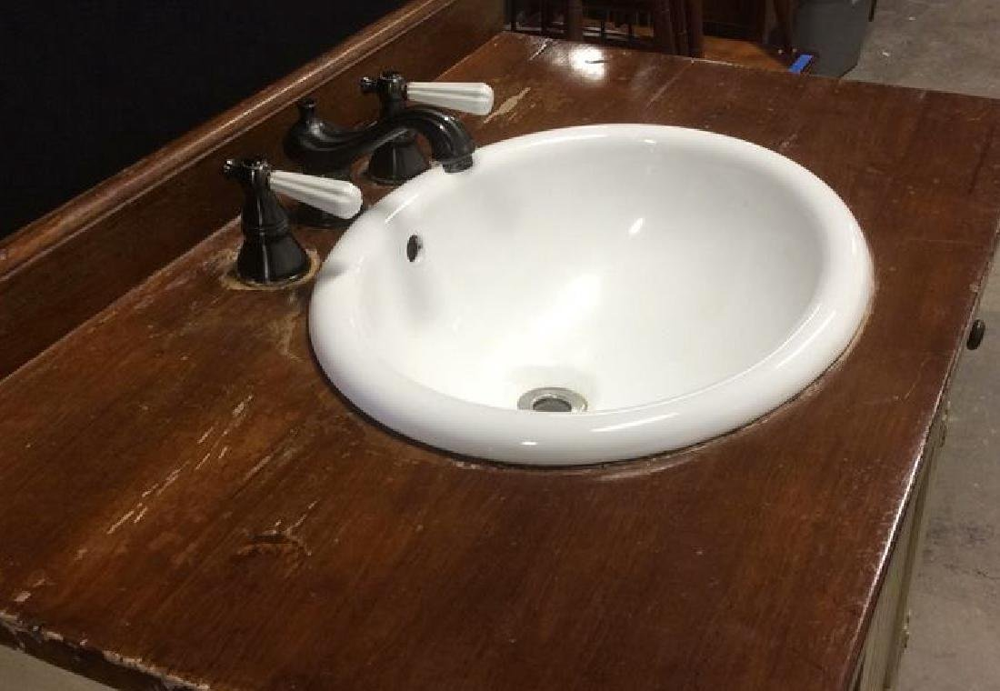 COUNTRY WILLOW Bathroom Vanity Upcycled - 6