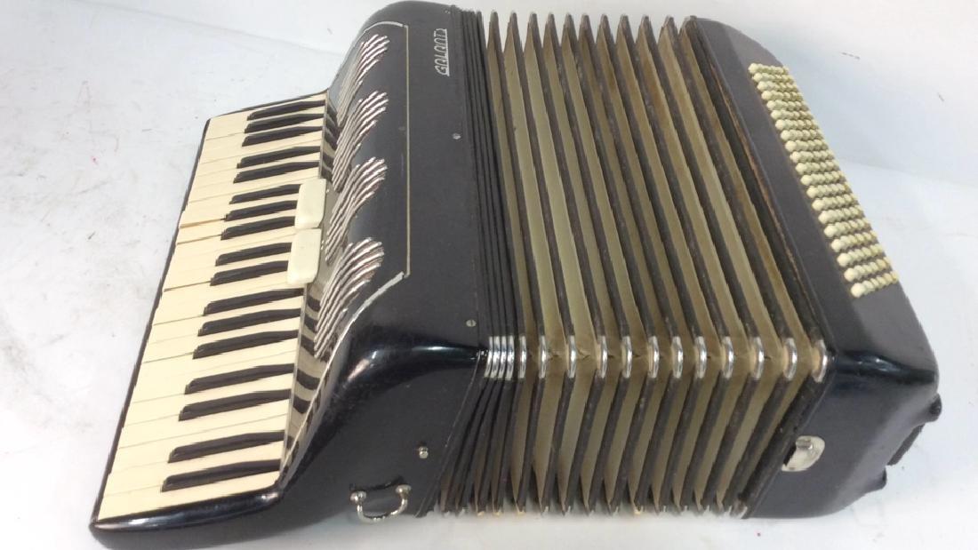 Vintage Italian Galanti Accordion - 7