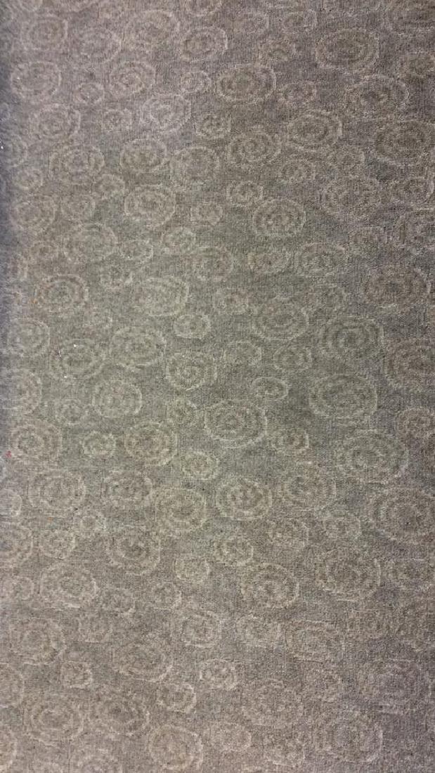 Tone on Tone Celadon Green Wool Carpet - 3