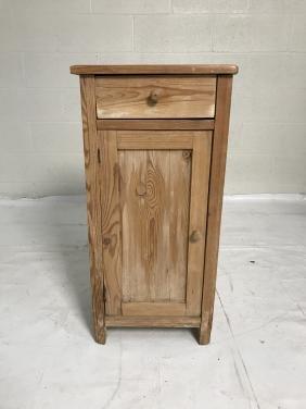 Vintage pine nightstand
