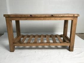 Antique pine sideboard
