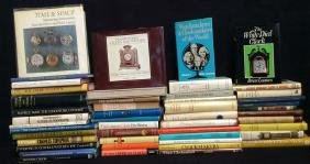 Group Lot of 48 Clock Topic Hard Cover Books