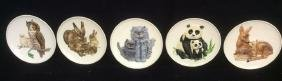 Group Lot Goebel Mothers Series Ceramic Plates