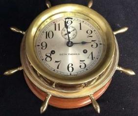 Early 20th Century Seth Thomas Ships Clock