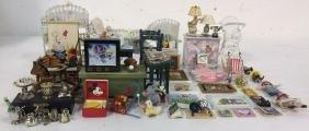 Vintage Nursery and Playroom Dollhouse Accessories
