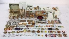 Vintage Kitchen Accessories for Dollhouse
