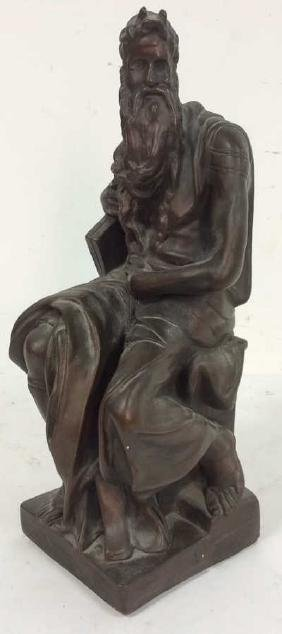 Resin sculpture of Moses