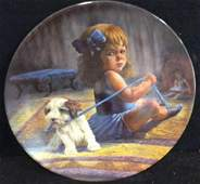 Gregory Perillo Ballerinas  Dilemma Plate