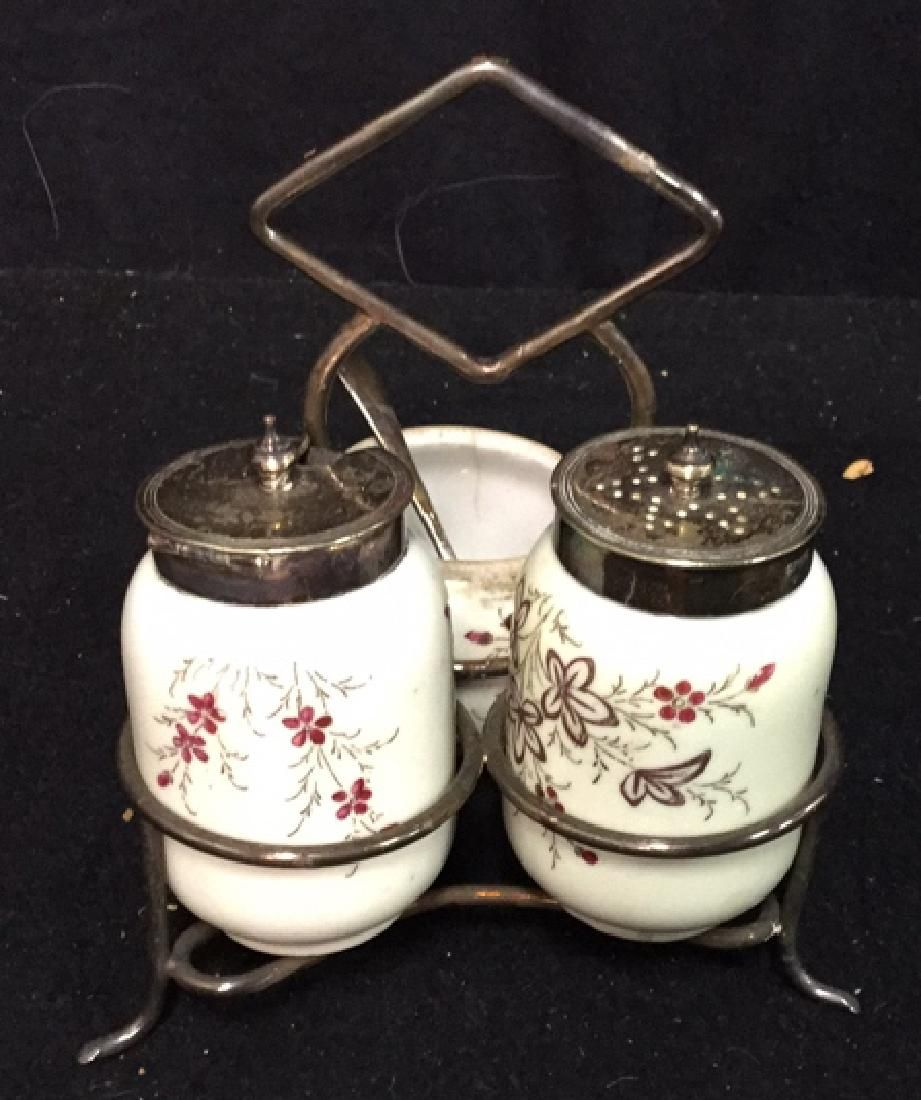 Antique Victorian Cruet Set